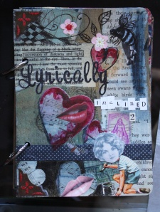 Lyrically Inclined 2, Sketchbook cover