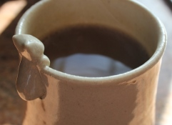 Every day is better with coffee from a kitty mug.