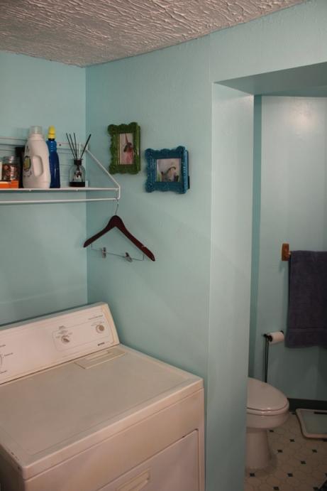 Repainted bathroom 3