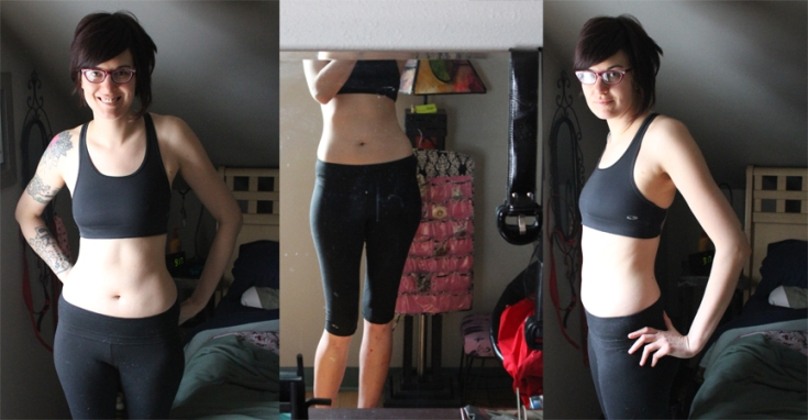 Before: Yep, here you go, as promised–super awkward unflattering before photo.